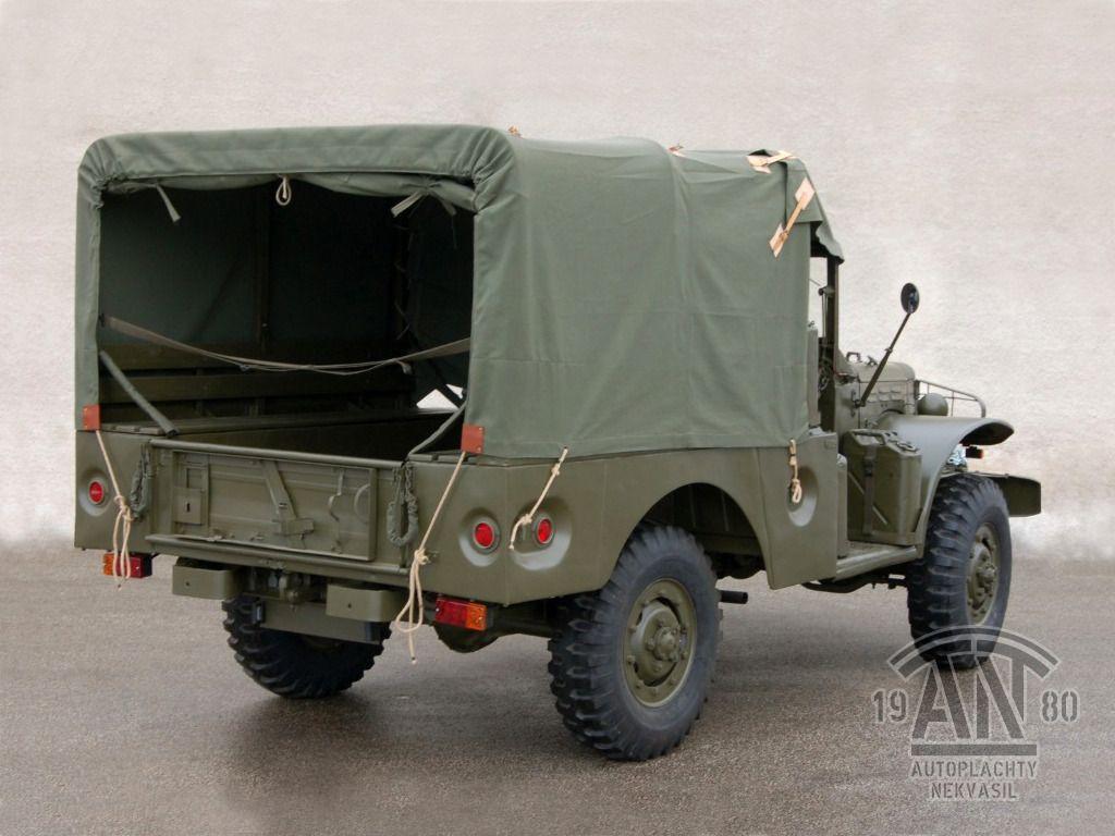 Dodge WC – bâche WC51/WC52 – AUTOPLACHTY NEKVASIL