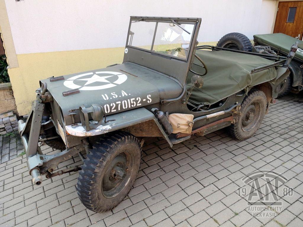 Jeep MA/MB/GPW – Zakrývací plachta – AUTOPLACHTY NEKVASIL