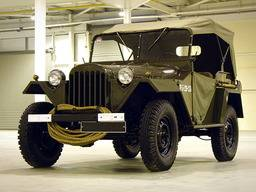 GAZ 67 – Canvas top with doors