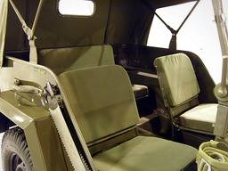 GAZ 67 – Seat cushion set