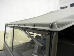 Jeep MA/MB/GPW – Canvas summer top MA