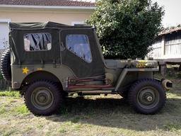Jeep Willys M38 – Plachta