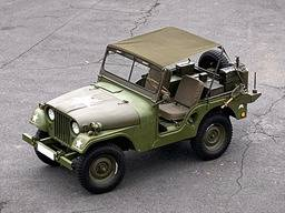 Jeep Willys M38A1 – Mini tropiko