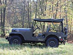 Jeep Willys M38A1 – Plachta