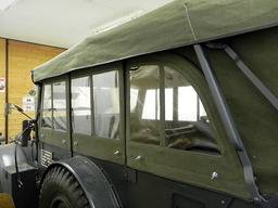 Special offer – Canvas top + pantograph + windows Horch 901 Kfz.15