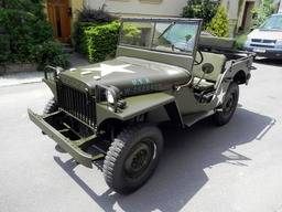 Special offer – Renovated car Jeep Willys MA 1941