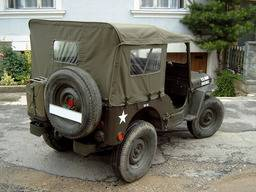 Willys M38/M38A1 – Tetto